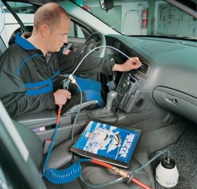 Autóklíma fertőtlenítés, gombamentesítés