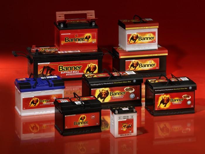 Banner akkumulátorok