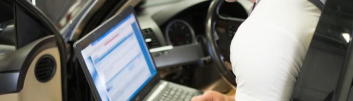 Intelligens autódiagnosztika, hibakód kiolvasás